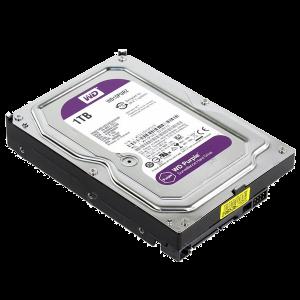 Жесткий диск WD SATA-III WD10PURZ Purple 1Тб