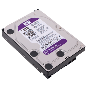 Жесткий диск WD SATA-III WD30PURZ Purple 3Тб