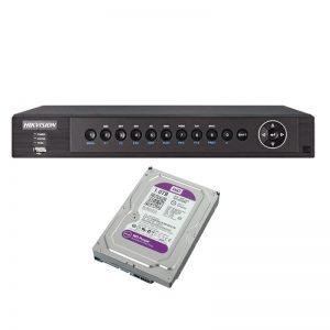 Hikvision DS-7204HUHI-F1N c жестким диском 1Tb